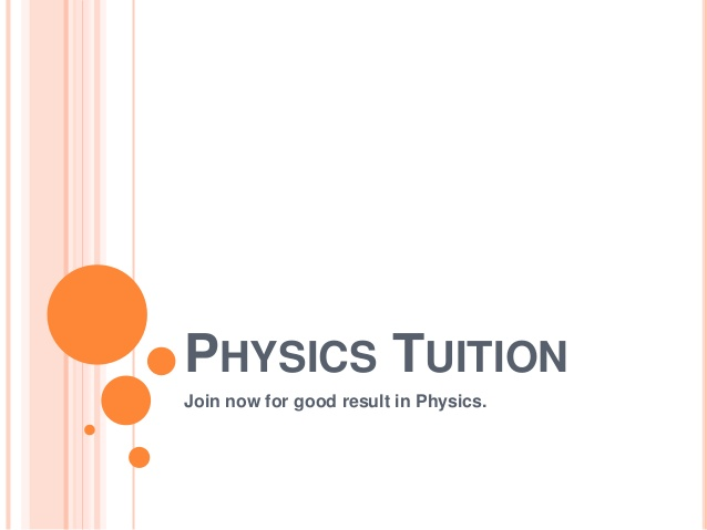 4 reasons why you should enroll your child in physics tuition